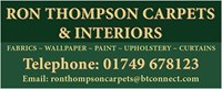 Ron Thompson Carpets logo